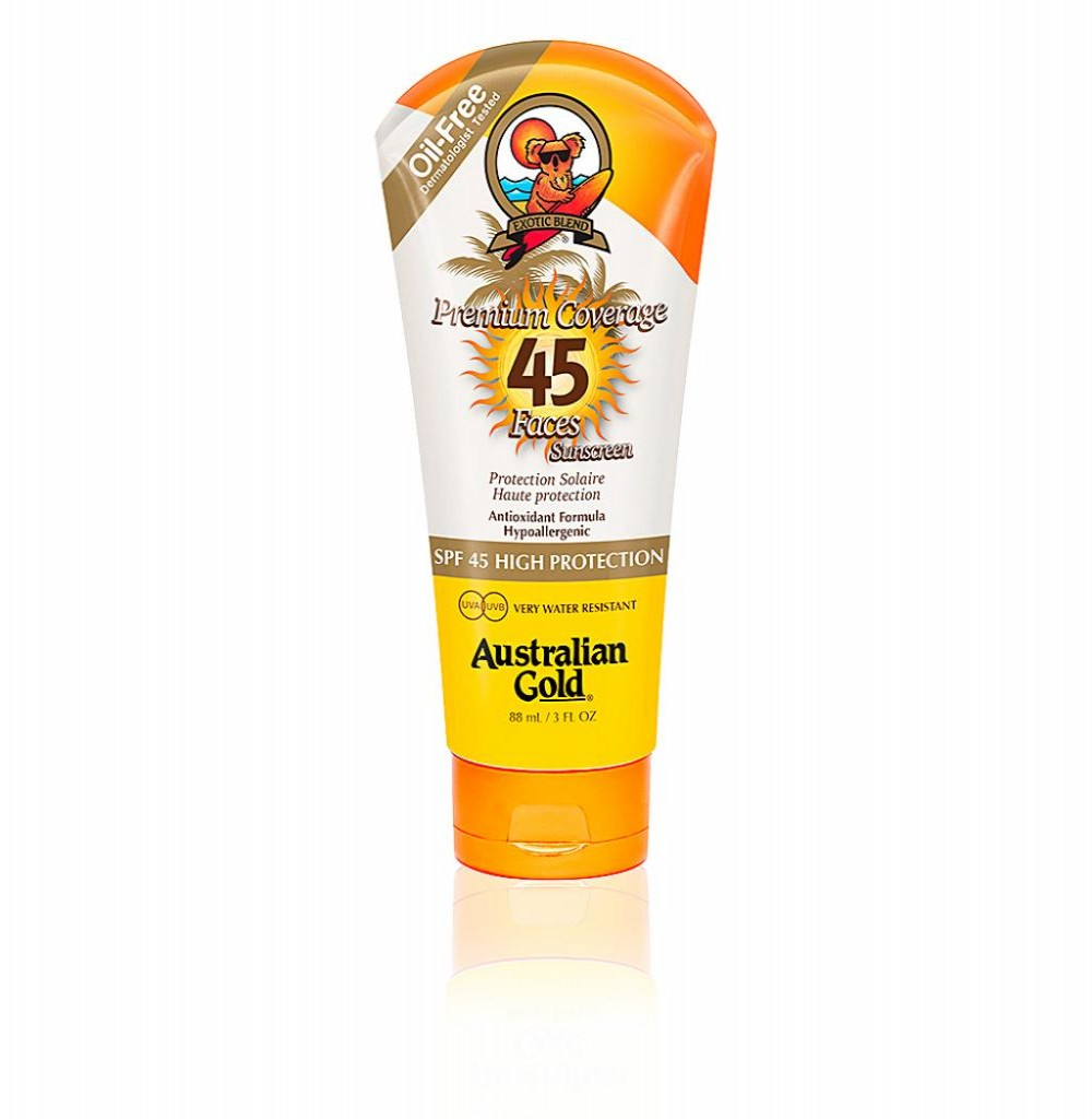 Bronzeador Australian Gold Coverage Suns Spf45 Faces 88ml