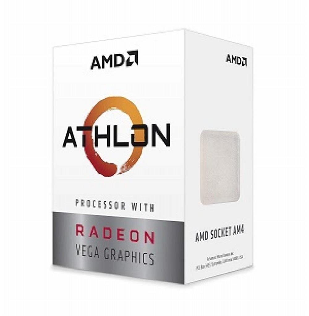 Processador AMD AM4 Athlon 320GE VEGA 3.2GHZ 4MB OEM