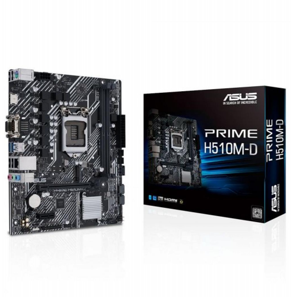 Placa Mãe Asus H510M-A Prime Intel (1200)