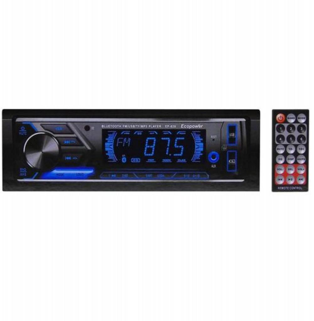 Som Para Carro Ecopower EP-626 USB/SD/BT/FM