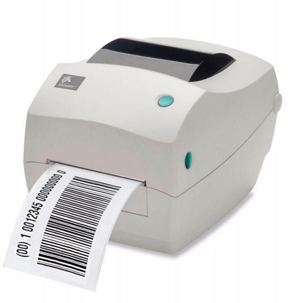 Impressora Térmica Zebra GC420T 203DPI Bivolt Branco