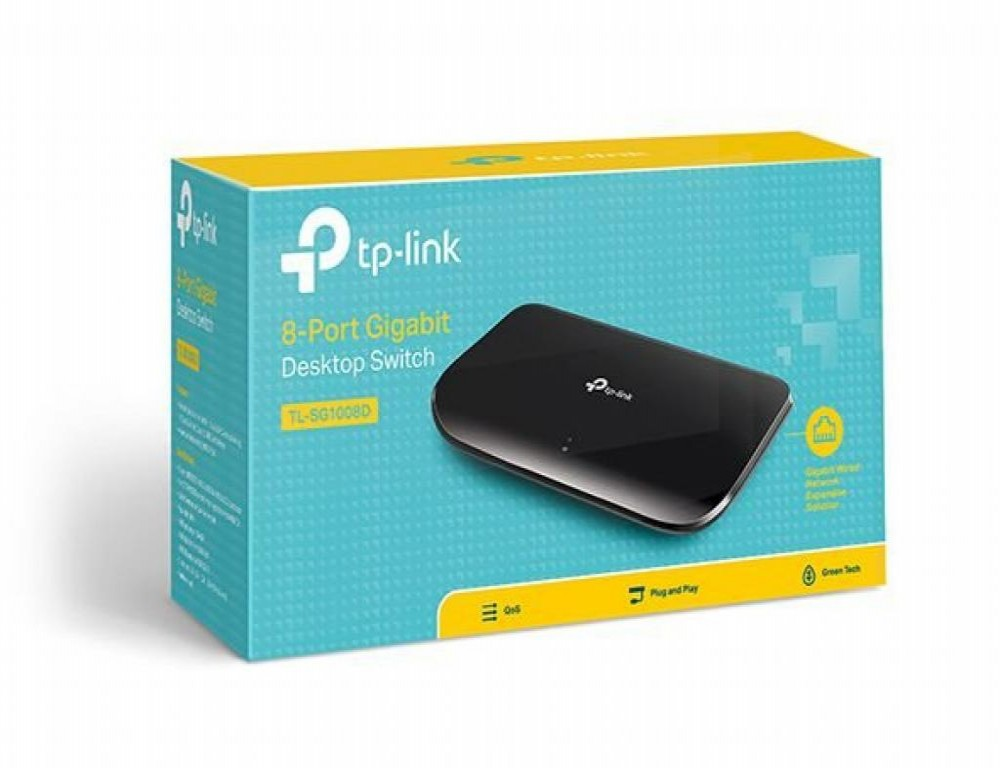 Hub 8 Portas TP-LINK TL-SG1008D 10/100/1000
