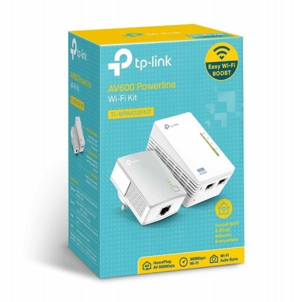 PowerLine Tp-Link TL-PA4010 Kit Starter AV600 Nano