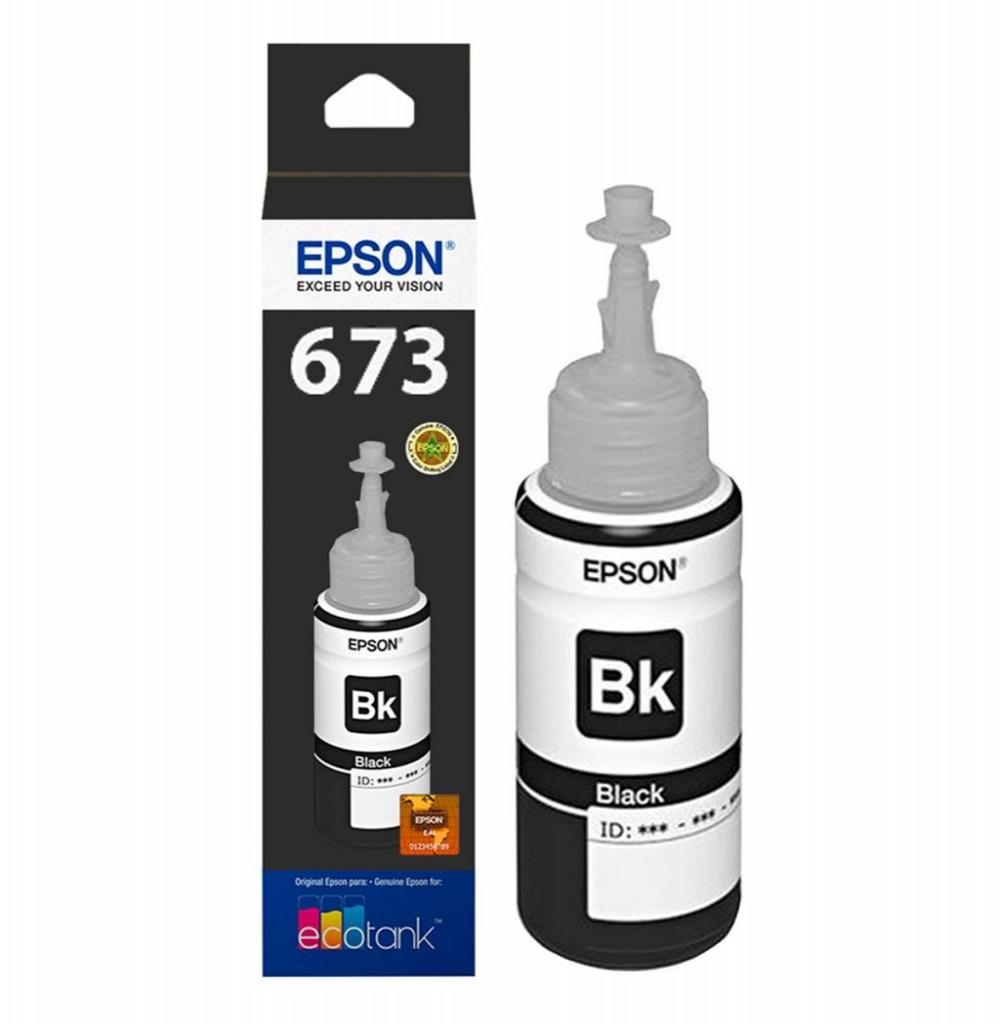 Tinta Epson L800 Preto T673120