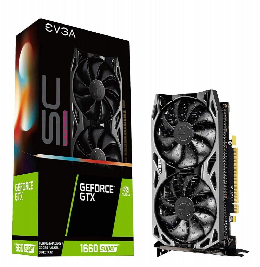 Placa de Vídeo 6GB EXP.GF-GTX1660 EVGA Super SC Ultra Gaming