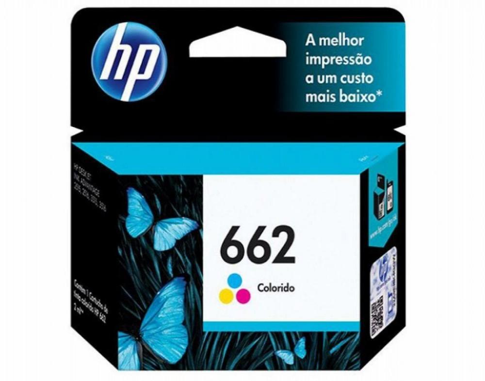 Cartucho HP (662) Z104AL Colorido