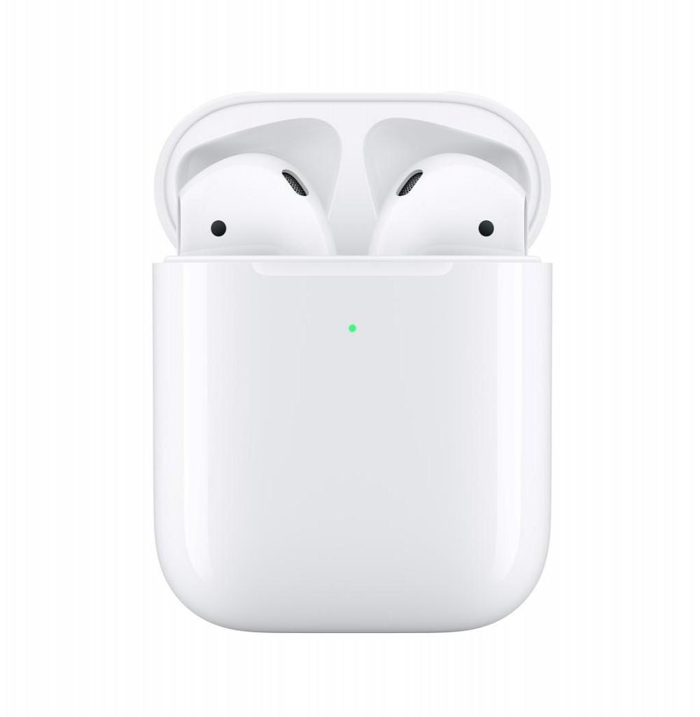 Fone Apple Airpods 2 MRXJ2 Bluetooth Carregador Sem Fio Branco