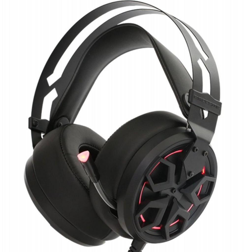 Headset para Jogos XTrike Me Stereo GH-950 Preto/Vermelho