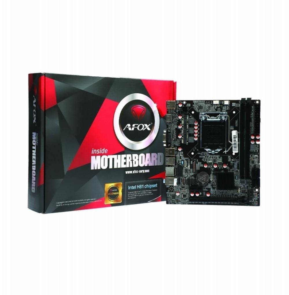 Placa Mãe Intel (1150) Afox IH81-MA6
