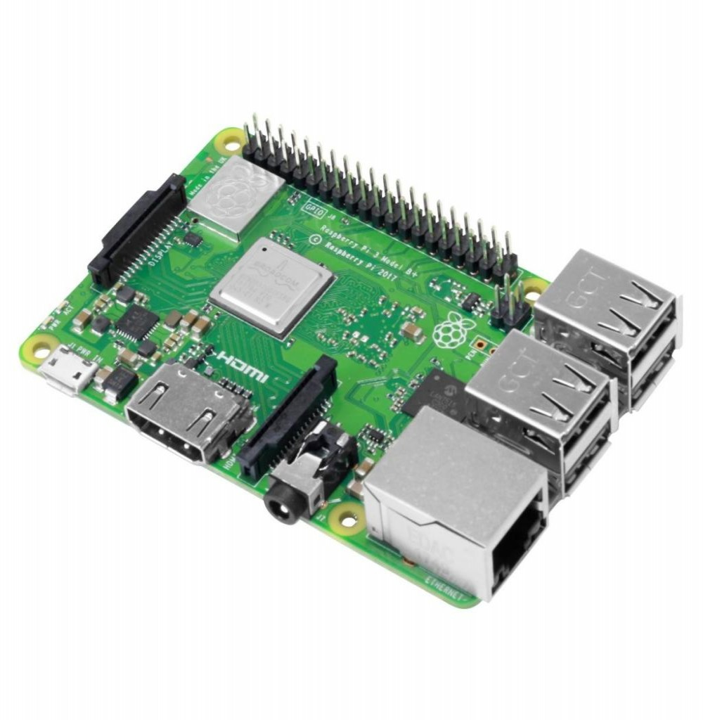 Placa de Micro Computador Raspberry Pi 3 B+ com HDMI/USB