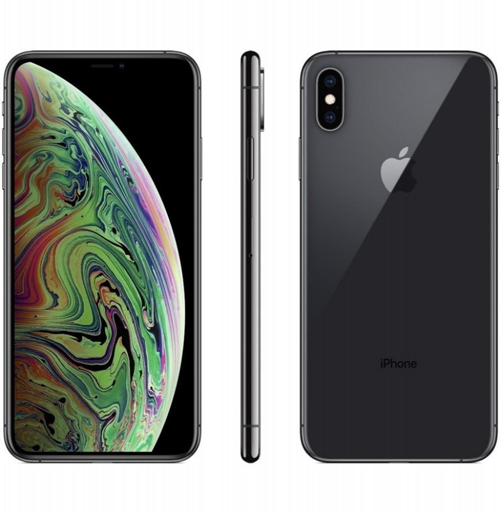 """Apple iPhone Xs Max A1921 512GB Super Retina OLED de 6.5"""" 12MP/7MP iOS - Cinza Espacial"""