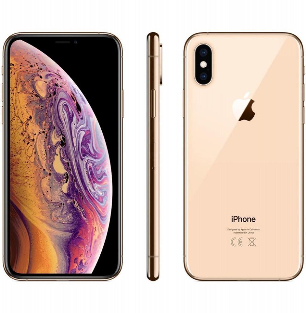 """Apple iPhone Xs Max A2101 512GB Super Retina OLED de 6.5"""" 12MP/7MP iOS - Dourado"""