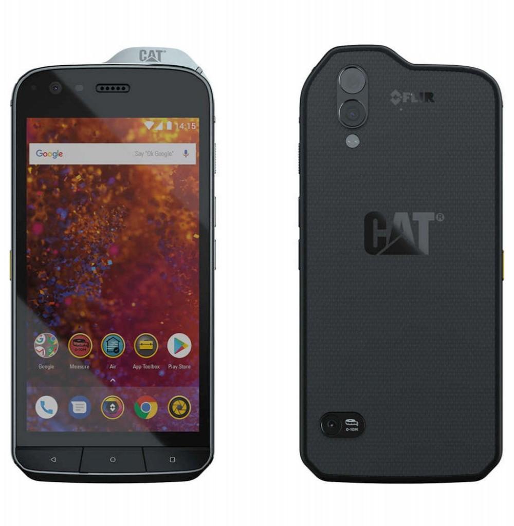 "Smartphone Caterpillar S61 Dual SIM 64GB Tela 5.5"" 16MP/8MP OS 8.1 - Preto"