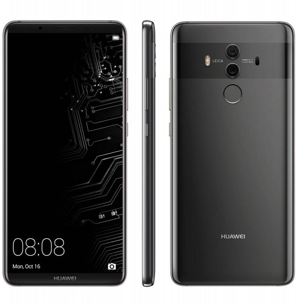 Celular Huawei Mate 10 Lite Rne L03 64GB / 4G / Single Sim Preto