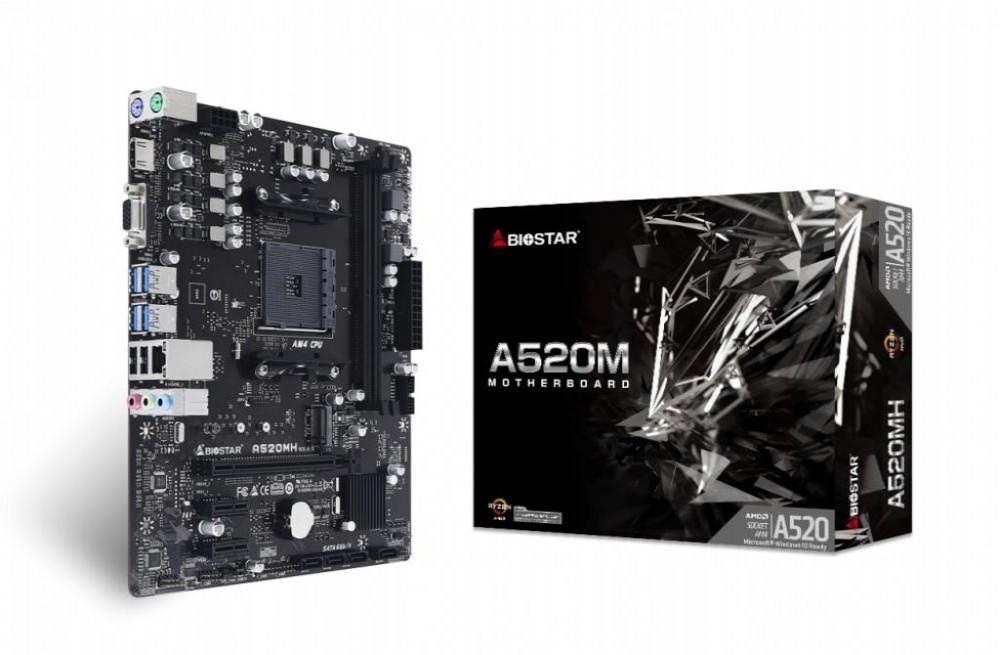 Placa-Mãe Biostar A520MH AMD (AM4)