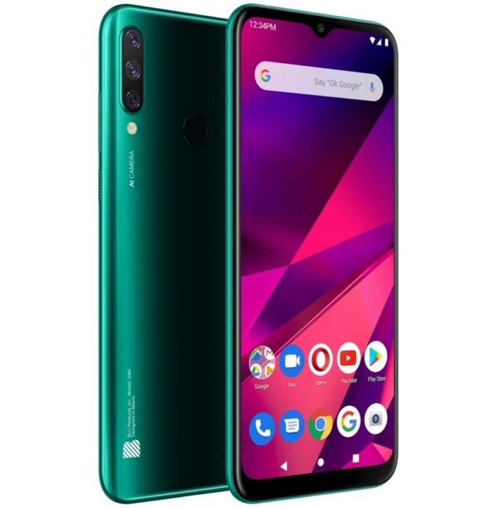 "Celular Blu DS G80 G0290WW 6.5"" LTE 3GB/64GB Verde"