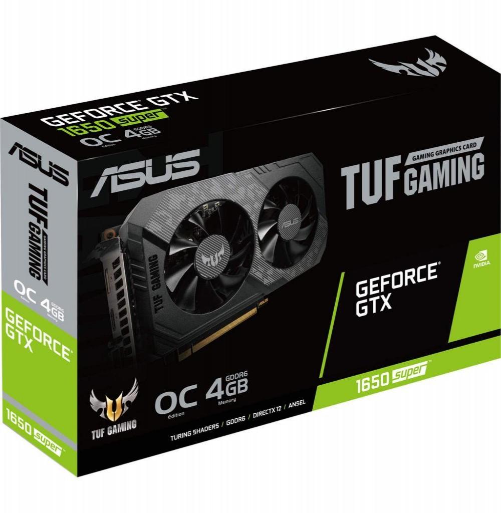 Placa de Vídeo Asus TUF Gaming OC EXP. GF-GTX1650  4GB
